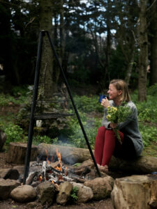 Forest Bathing Outdoors